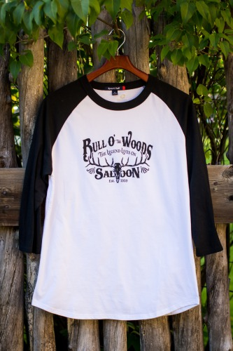 Black & White Baseball Tee