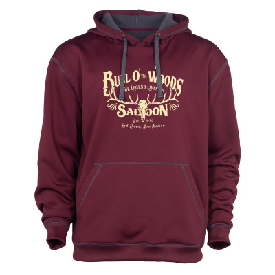 Maroon Classic Transit Pullover Hoodie